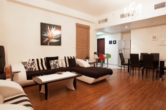 Spacious modern apartment with 1 bedroom in the project Bahar 1 Jumeirah Beach Residence