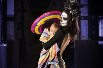 SANTA MUERTE is the night carnival on the occasion of the Day of the Dead in Kyiv.