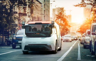 Driverless buses in Dubai — already in the emirate