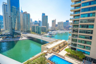 Rent a penthouse in Dubai in the Marina Quays