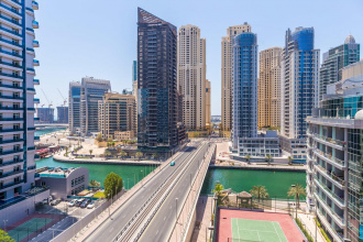 Marina Crown short term rental in Dubai for whole vacation