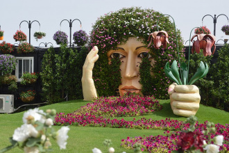 What shall one wait from a visit to Dubai Miracle Garden?