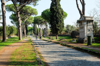 Appian Way in Rome: the path of ancient warriors and pilgrims