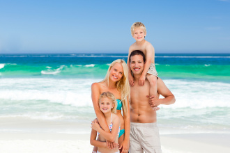 I have the first holiday with a child. Where to go and how to find a hotel?
